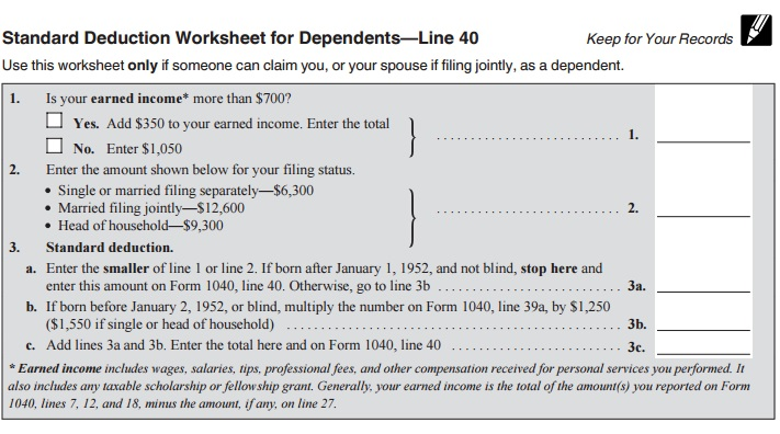 line-40-dep-std-deduction